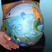 Bauchpinselei Hameln, Schwangerschaft
